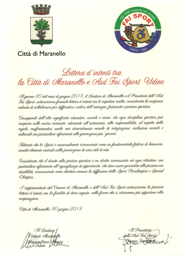 lettera intenti comune maranello 1024
